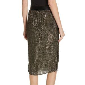 Joie Malloren Sequined Pencil Skirt, Sz 6